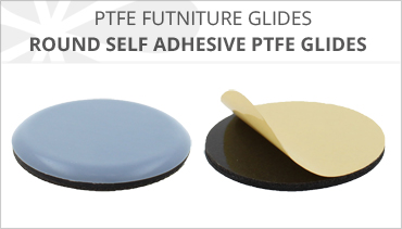ROUND SELF ADHESIVE PTFE FURNITURE GLIDES